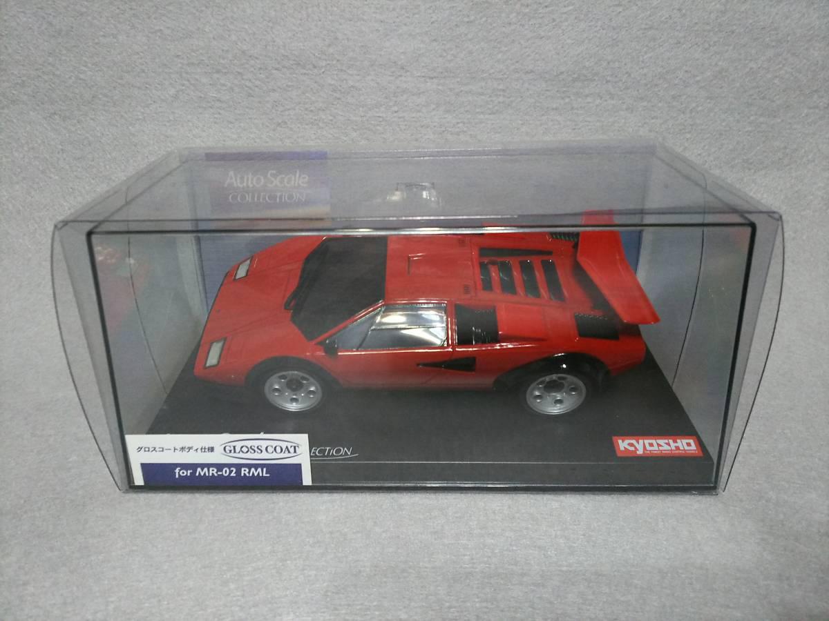 京商ミニッツ用 ランボルギーニ カウンタック LP500S レッド オートスケールコレクション