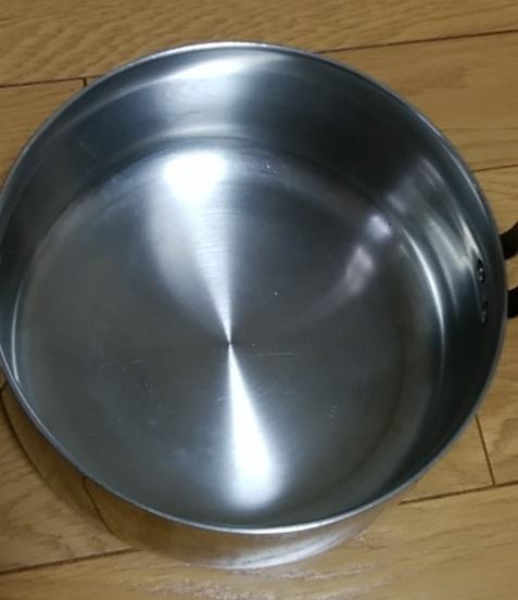 鍋本体の内側は比較的きれいだと思います