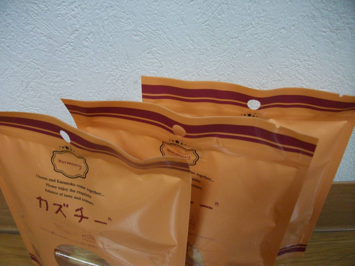 新品未開封 カズチー 燻製数の子とチーズのおつまみ 3袋セット ③_画像6