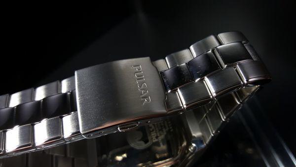 【デジタル PULSAR 1円】SEIKO セイコー パルサー 腕時計 ワールドタイム クロノグラフ 100m防水 メンズ 輸入モデル 新品 未発売 ウォッチ_画像5
