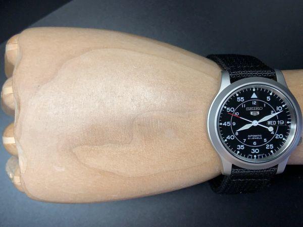 【訳あり 1円 セイコー 5 AUTOMATIC】SEIKO 自動巻き 21JEWELS 腕時計 メンズ 逆輸入 モデル 新品 30m防水 日本未発売 海外限定 アナログ_画像9