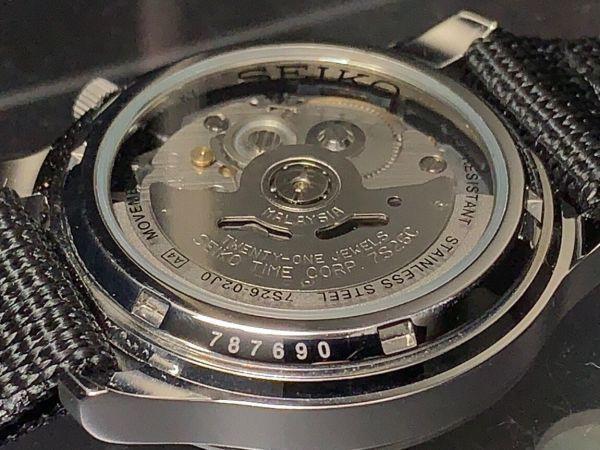 【訳あり 1円 セイコー 5 AUTOMATIC】SEIKO 自動巻き 21JEWELS 腕時計 メンズ 逆輸入 モデル 新品 30m防水 日本未発売 海外限定 アナログ_画像6