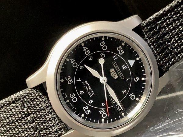 【訳あり 1円 セイコー 5 AUTOMATIC】SEIKO 自動巻き 21JEWELS 腕時計 メンズ 逆輸入 モデル 新品 30m防水 日本未発売 海外限定 アナログ_画像7
