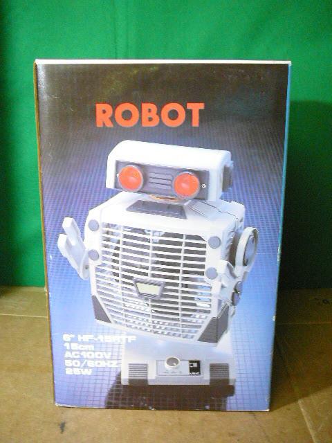 ROBOT THE FAN 未使用!箱付き! ロボット扇風機