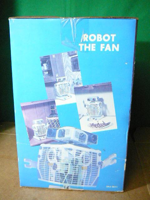 ROBOT THE FAN 未使用!箱付き! ロボット扇風機_画像2