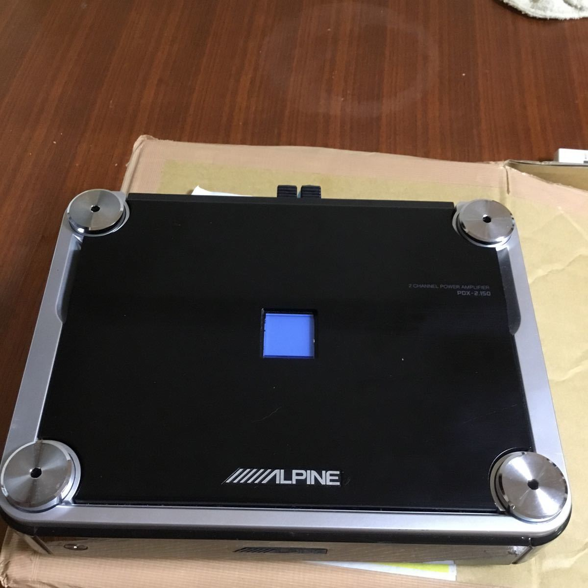 ALPINE pdx-2 150パワーアンプ 美品ですアルパイン_画像5