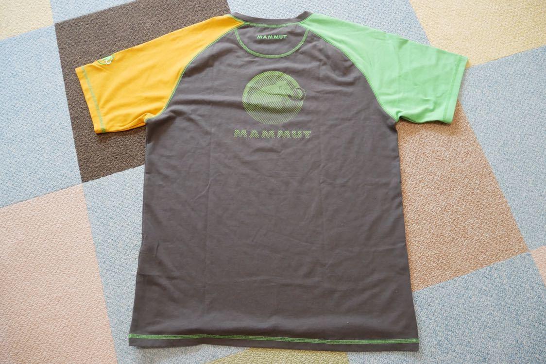 MAMMUT マムート drirelease ドライリリース Tシャツ 速乾 ストレッチ Lサイズ_画像2