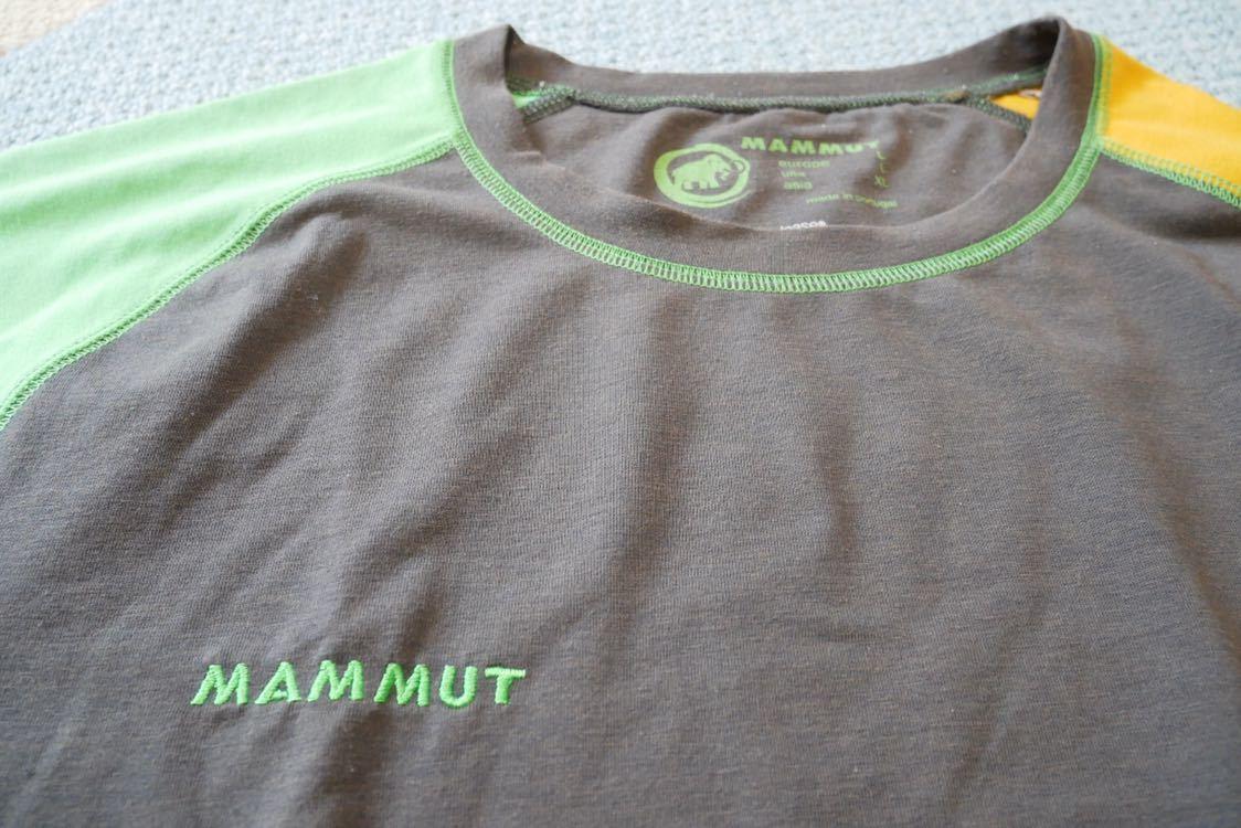 MAMMUT マムート drirelease ドライリリース Tシャツ 速乾 ストレッチ Lサイズ_画像5