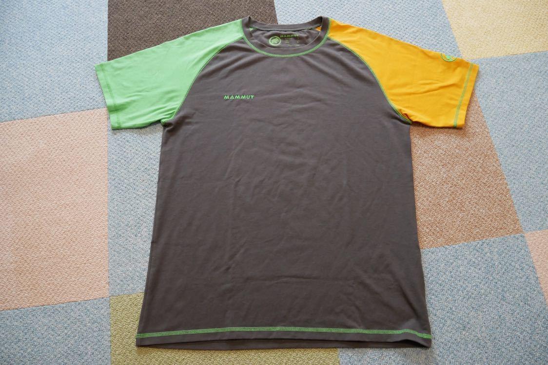 MAMMUT マムート drirelease ドライリリース Tシャツ 速乾 ストレッチ Lサイズ
