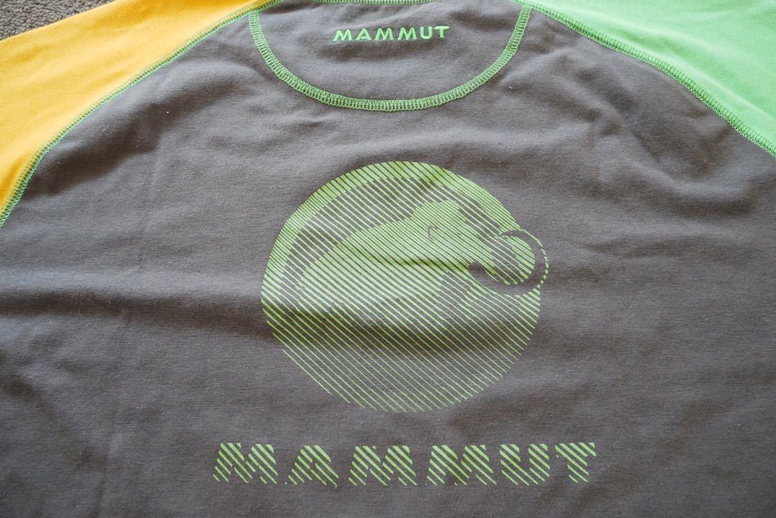 MAMMUT マムート drirelease ドライリリース Tシャツ 速乾 ストレッチ Lサイズ_画像3