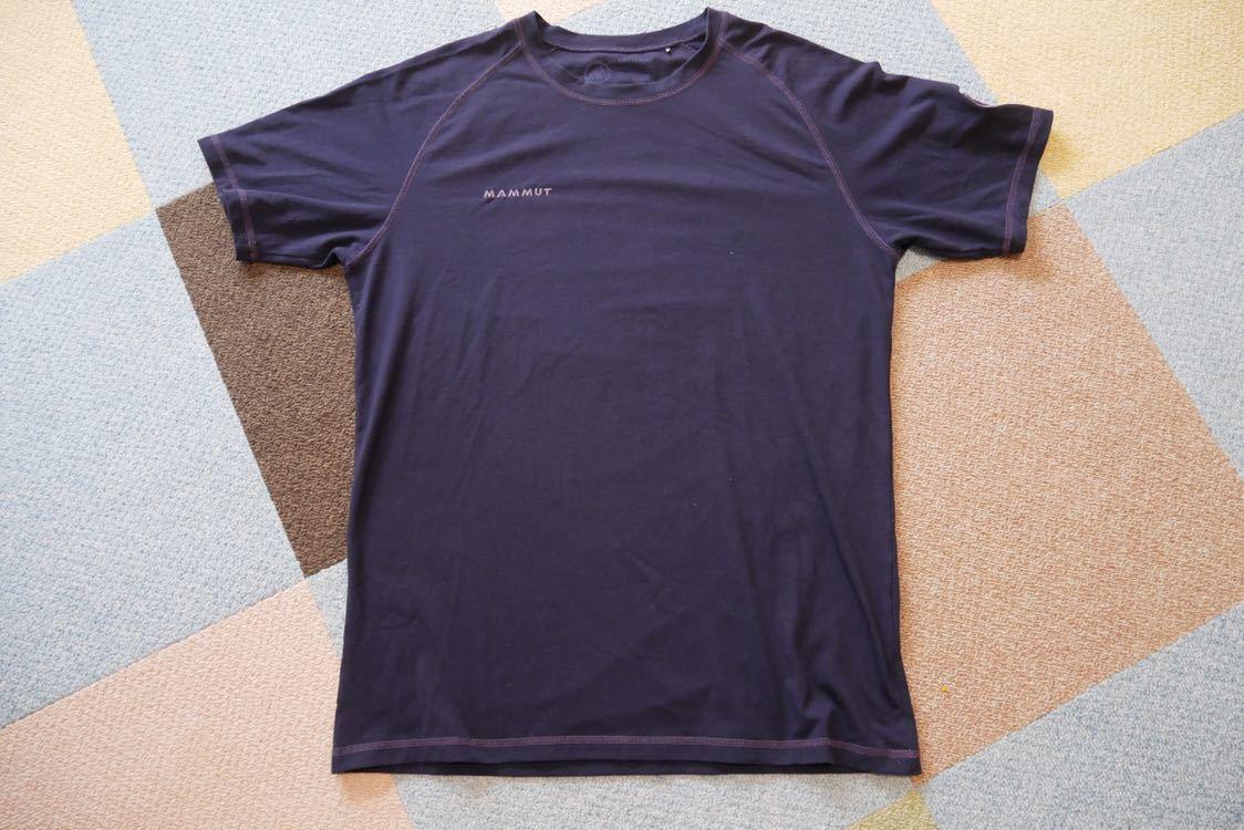 【 MAMMUT マムート drirelease ドライリリース Tシャツ 速乾 ストレッチ Lサイズ 】_画像2