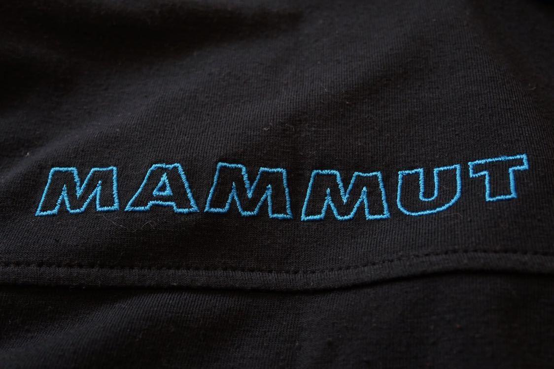 【 MAMMUT マムート drirelease ドライリリース 半袖 ポロ シャツ 速乾 ストレッチ 黒系 Lサイズ 】_画像6