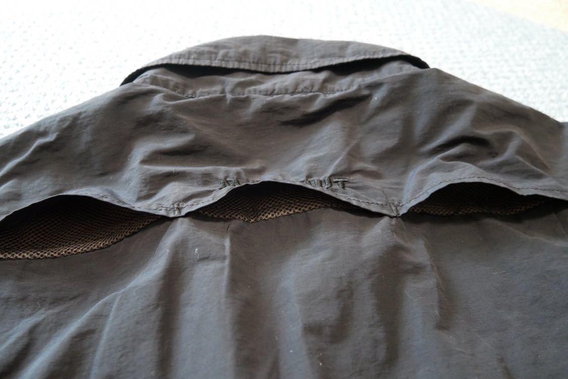 【 MAMMUT マムート BOULDER Shirts Short 半袖 速乾 BDシャツ ボタンダウン シャツ 黒 ブラック XLサイズ 】_画像5