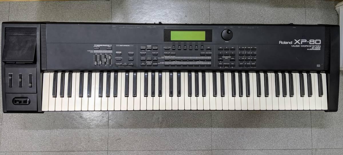 Roland XP-80 エクスパンションボード SR-JV80-09 SESSION 搭載済み 完動品