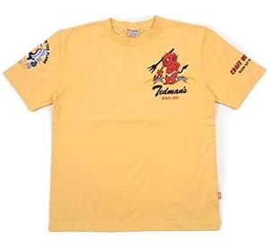 テッドマン/Tシャツ/カスタード/XL/tdss-484/エフ商会/カミナリモータース_画像2