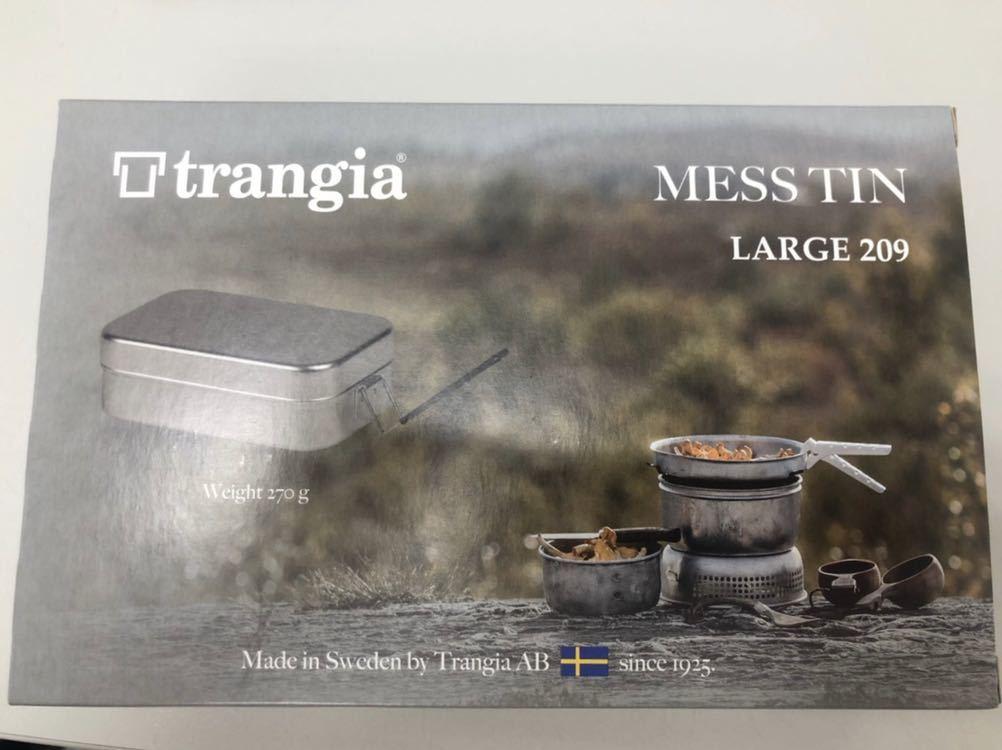 新品未使用 トランギア メスティン ラージ TR-209 ブラックハンドル_画像2