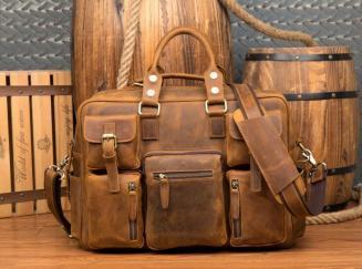 【純手工細作】上層牛革100%メンズビジネスバッグ 書類かばん ビジネスバッグ ショルダーバッグ メンズバッグ 鞄Z46*