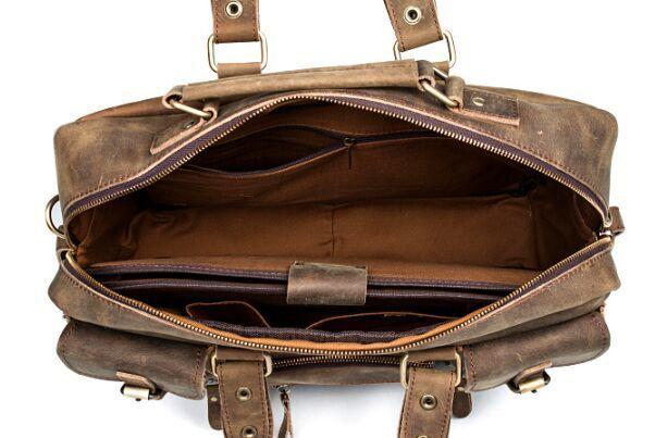 【純手工細作】上層牛革100%メンズビジネスバッグ 書類かばん ビジネスバッグ ショルダーバッグ メンズバッグ 鞄Z46*_画像3