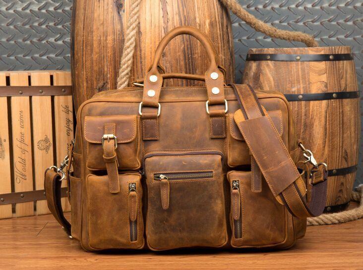 【純手工細作】上層牛革100%メンズビジネスバッグ 書類かばん ビジネスバッグ ショルダーバッグ メンズバッグ 鞄Z46*_画像7