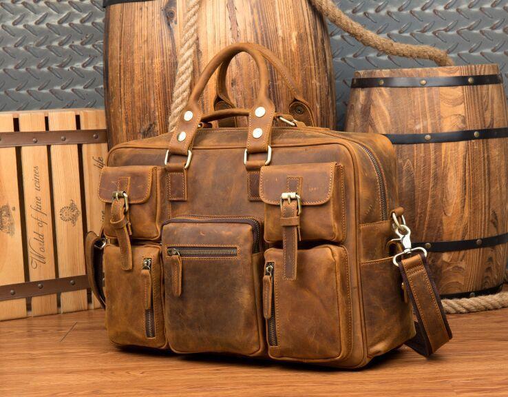 【純手工細作】上層牛革100%メンズビジネスバッグ 書類かばん ビジネスバッグ ショルダーバッグ メンズバッグ 鞄Z46*_画像5