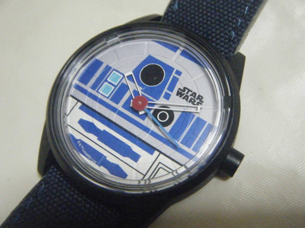 ANA 全日空 限定 スターウォーズ R2-D2 ソーラーウォッチ 腕時計