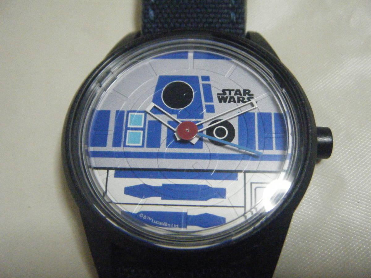 ANA 全日空 限定 スターウォーズ R2-D2 ソーラーウォッチ 腕時計_画像2