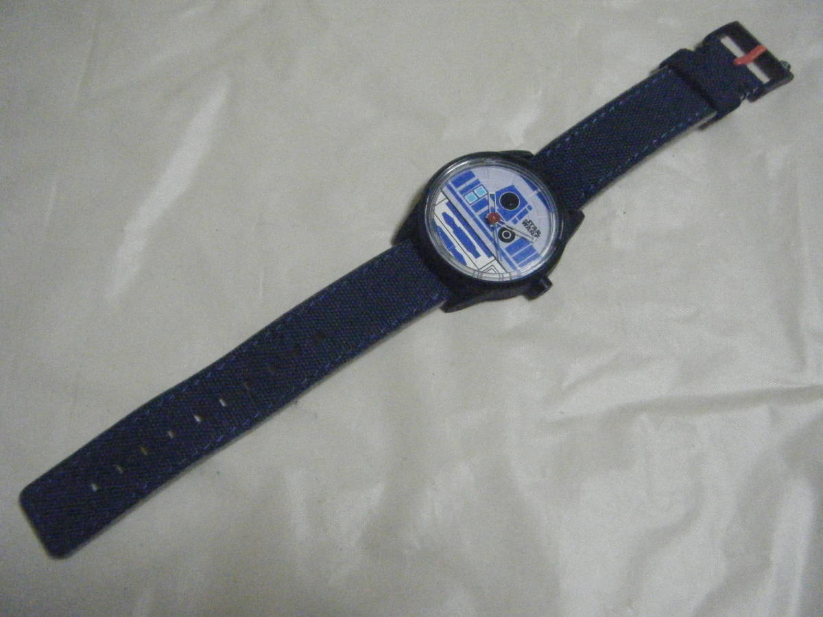 ANA 全日空 限定 スターウォーズ R2-D2 ソーラーウォッチ 腕時計_画像5