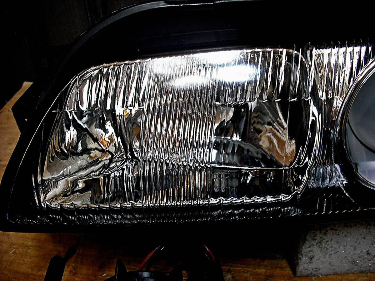 美品 日産純正 中古 BNR32 スカイライン GT-R 前期 R32 HCR32 HR32 プロジェクターヘッドライト左右_画像4