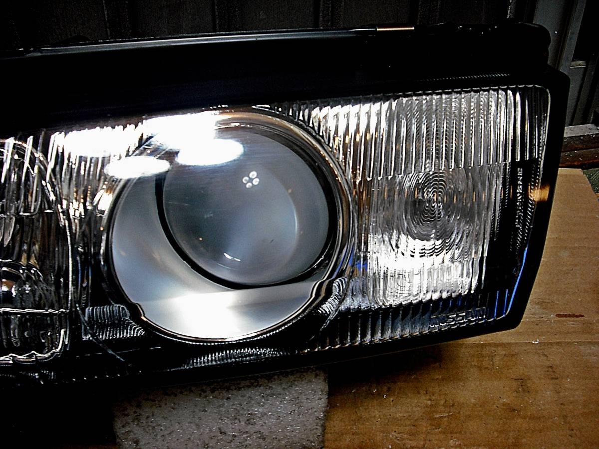美品 日産純正 中古 BNR32 スカイライン GT-R 前期 R32 HCR32 HR32 プロジェクターヘッドライト左右_画像5