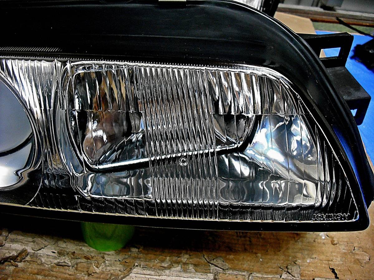 美品 日産純正 中古 BNR32 スカイライン GT-R 前期 R32 HCR32 HR32 プロジェクターヘッドライト左右_画像7