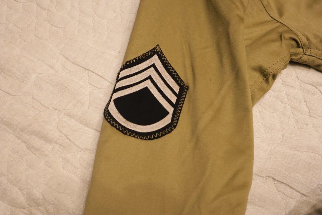 米軍タンカースジャケット 初期型 ワッペン付き_画像3