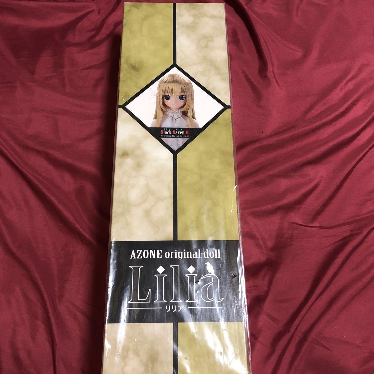 新品 早い者勝ち!! アゾン リリア ブラックレイヴンⅢ AZONE original doll Lilia Black Raven Ⅲ ドール_画像2