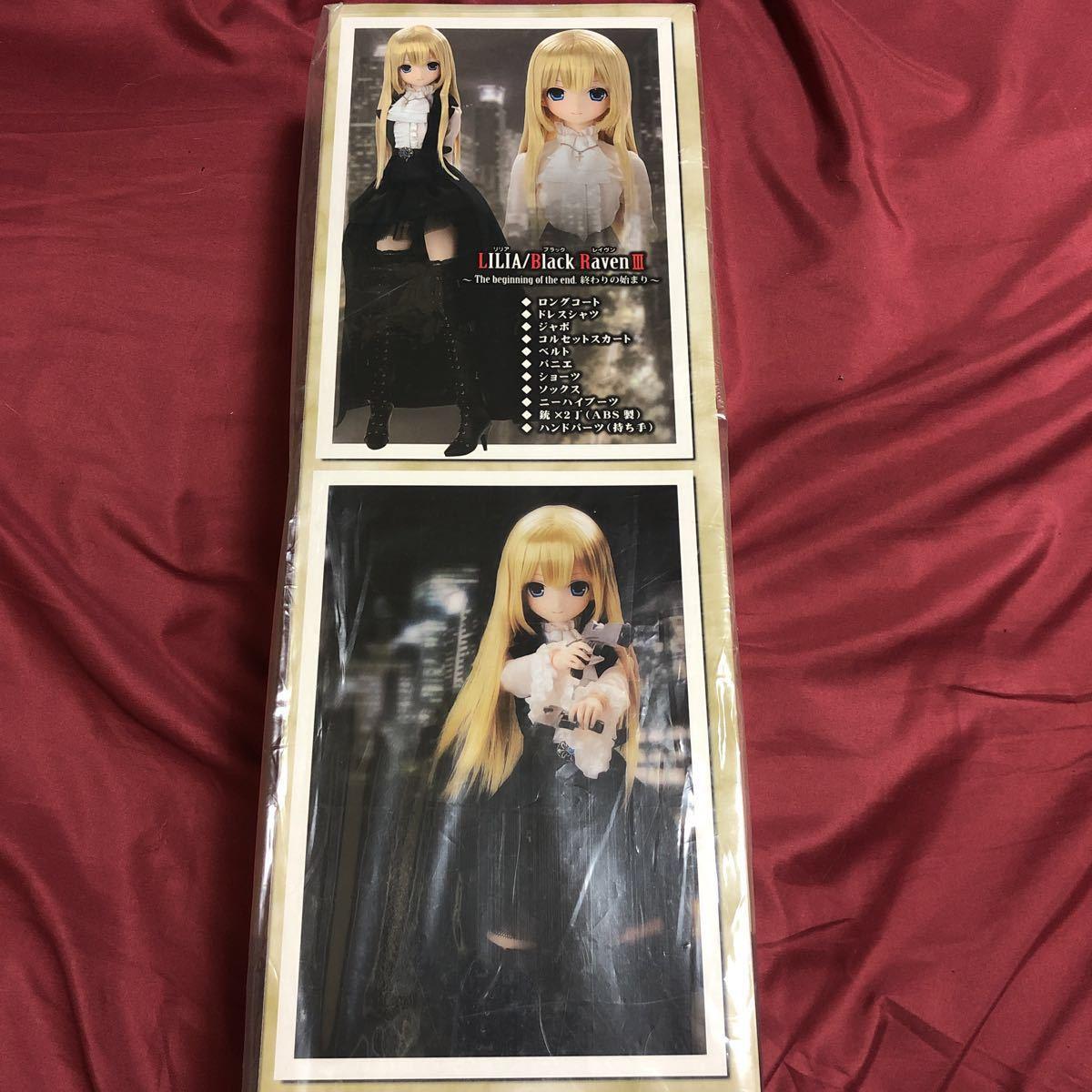 新品 早い者勝ち!! アゾン リリア ブラックレイヴンⅢ AZONE original doll Lilia Black Raven Ⅲ ドール_画像3