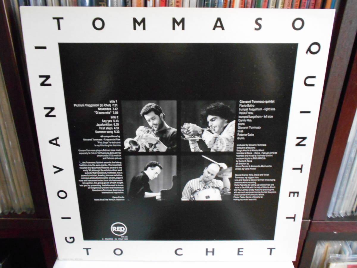 入手困難 (original) Giovanni Tommaso Qiuntet/ To Chet_画像2