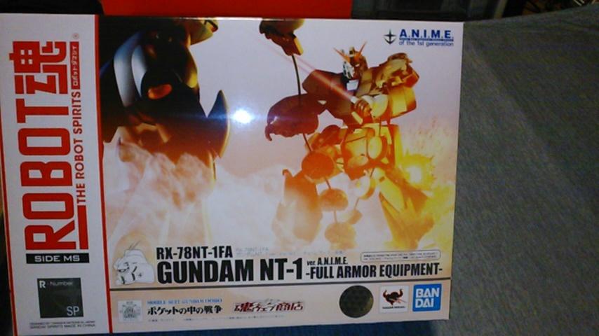 ロボット魂 NTー1アレックス チョパムアーマー装備