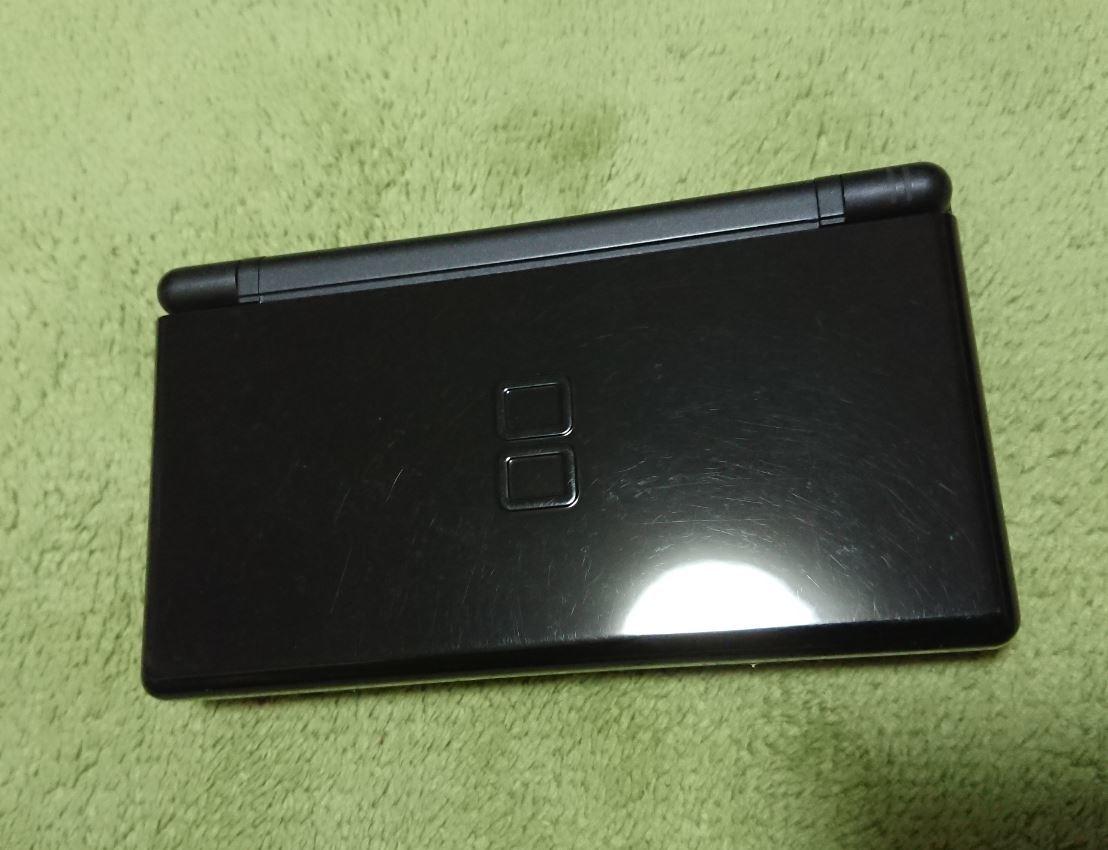 任天堂■Nintendo DS Lite本体■ブラック■おまけ付き■中古_画像2