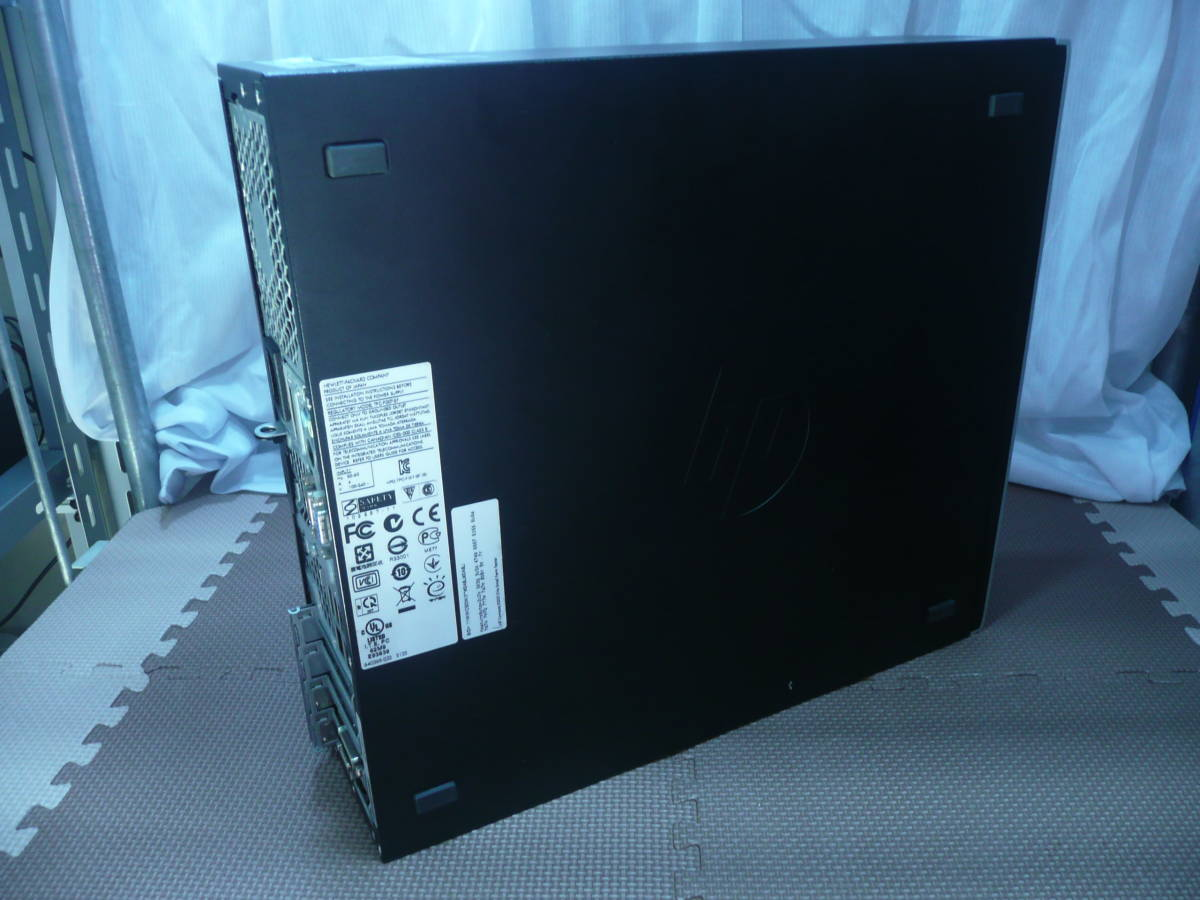 [省スペデスク] HP Compaq Elite 8200SFF【i7-2600 3.4GHz/6GBRAM/1TBHDD/GTX750tiグラボ/Win7pro-64(HDリカバリ)】_画像5