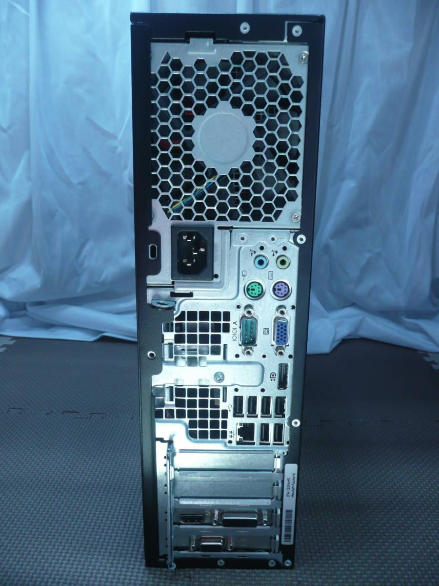 [省スペデスク] HP Compaq Elite 8200SFF【i7-2600 3.4GHz/6GBRAM/1TBHDD/GTX750tiグラボ/Win7pro-64(HDリカバリ)】_画像4