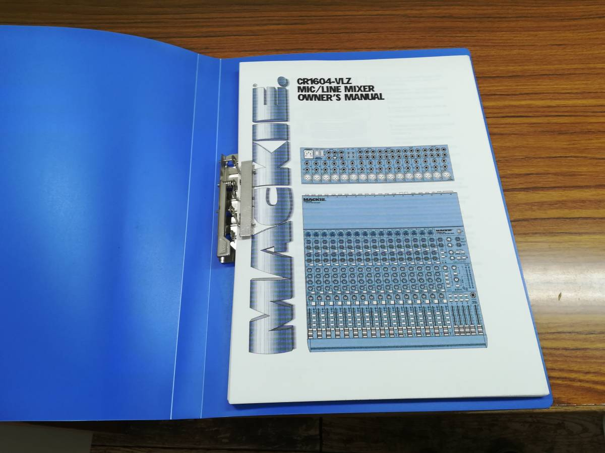 MACKIE CR1604-VLZ 美品 ケース付き_画像7