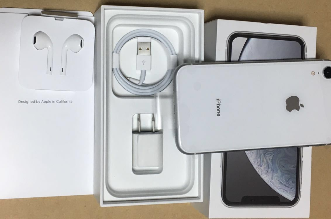 iphone Xr 64GB SoftBank 新品未使用 残債なし SIMフリー 送料無料