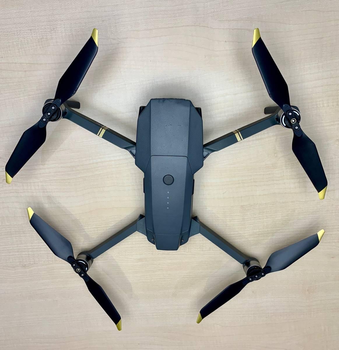 【難あり】DJI MAVIC PRO 専用ケース付き 映像撮れませんが飛行は問題なし!練習用、入門機などに!_画像2