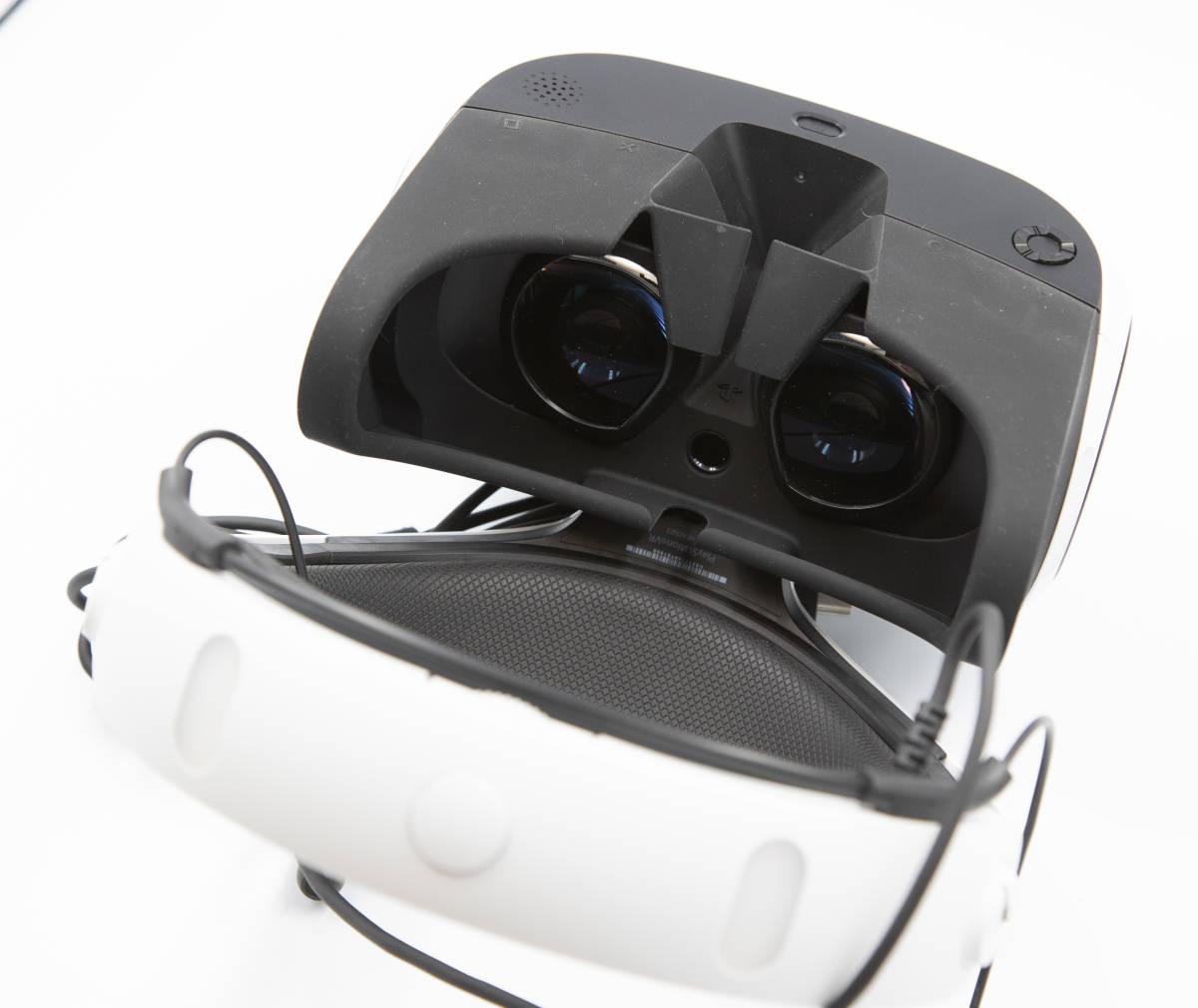 PlayStation VR PlayStation Camera 同梱版 2017年12月 購入 オマケ付!!_画像2