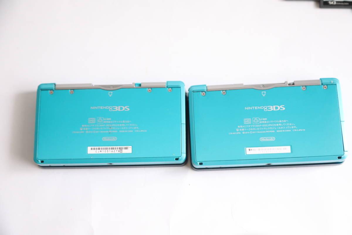 ニンテンドー3DS アクアブルー【メーカー生産終了】nintendo 3ds ソフトまとめ_画像3