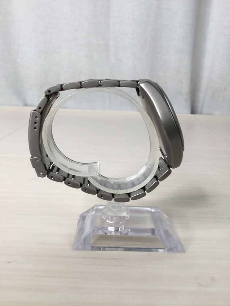 CITIZEN シチズン プロマスター ECO-Drive エコドライブ 20bar RESIST TITANIUM チタン7828-H09971 TA GN-4W-UL 920095 メンズ 男性 腕時計_画像4