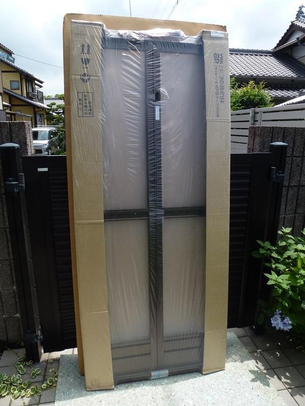 未使用◆YKKap◇浴室用サニセ-フⅡ(折戸Sタイプ) W744×H1816 外付_画像6