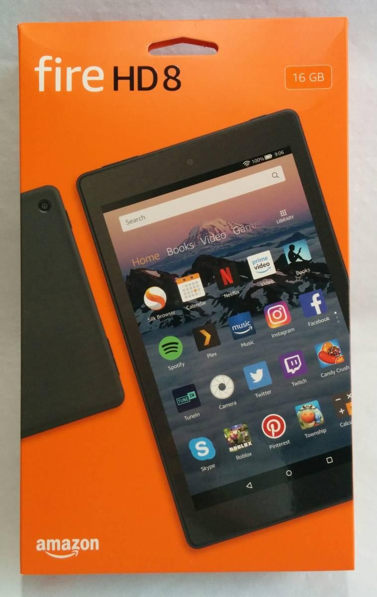 Amazon Fire HD 8 タブレット 16GB (2018 第8世代) & タブレットケース