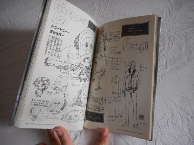 ONE PIECE ワンピース 巻千 尾田栄一郎 ジャンプコミックス/映画設定画 相関図 など_画像3
