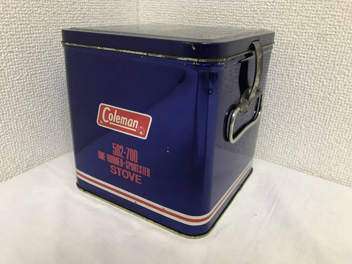 ★Coleman コールマン シングルバーナー 収納ケース 缶 502-700★