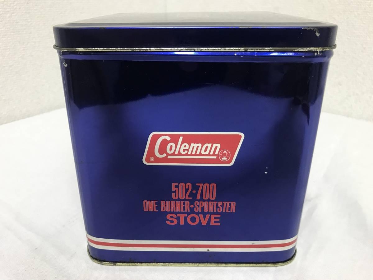 ★Coleman コールマン シングルバーナー 収納ケース 缶 502-700★_画像2