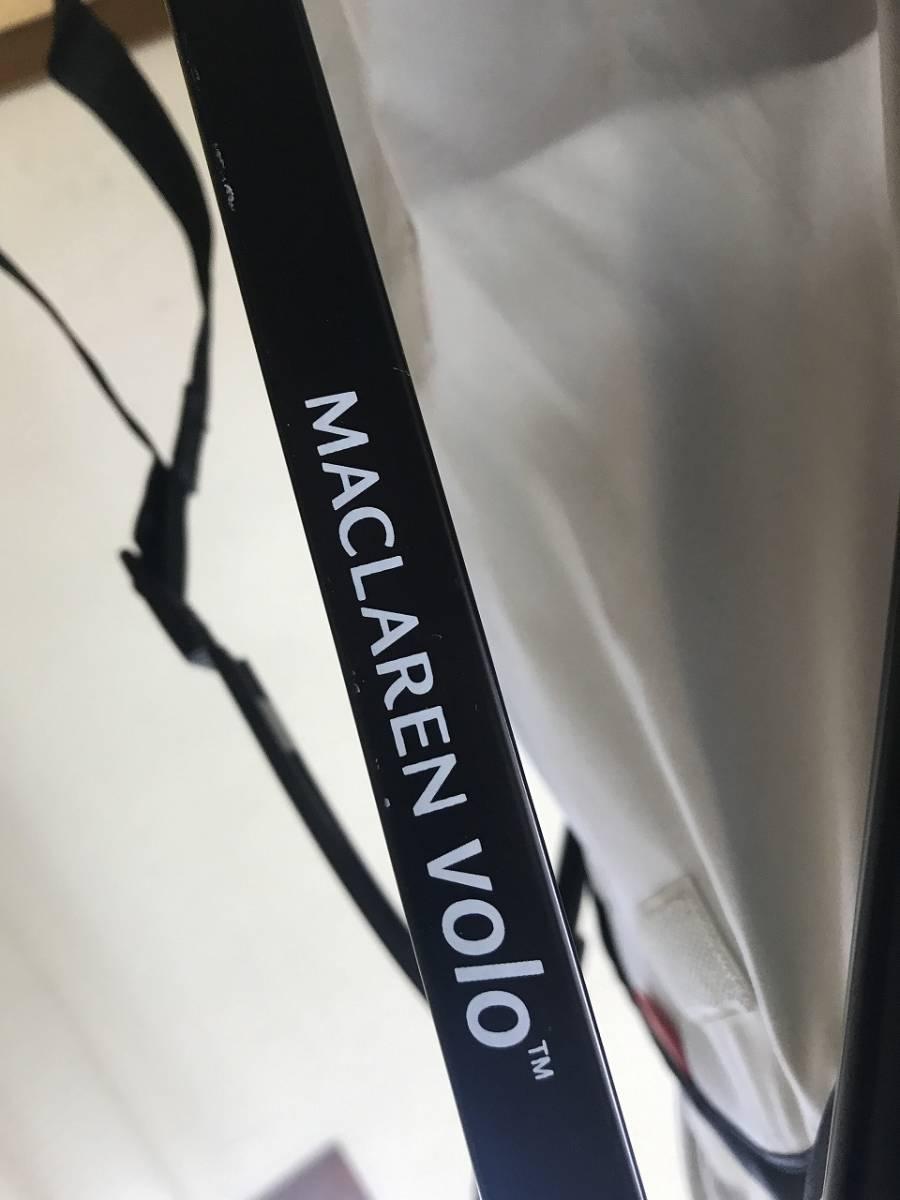 ★MACLAREN VOLO マクラーレン ヴォロー レインカバー付き ストライプ★_画像10